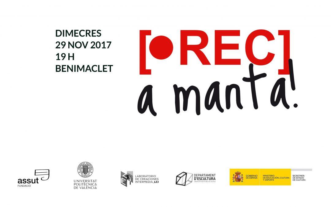 La Escola Meme de Benimaclet acoge la segunda edición del 'Rec a manta'